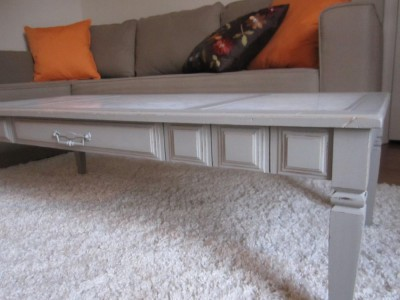 F87 - Marble Top Coffee Table - 03