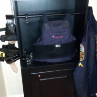 Police Equipment Organizer